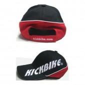 KICKBIKE CAP BLACK/RED