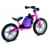 Puky Learner bike bag with integrated learner bike carrying strap, Pink
