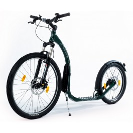 Kickbike Cross MAX 20D+ HYDRAULIC Disc Brake, Green